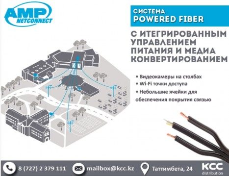 POWERED FIBER